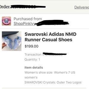 adidas Shoes - SWAROVSKI ADIDAS NMD R1!